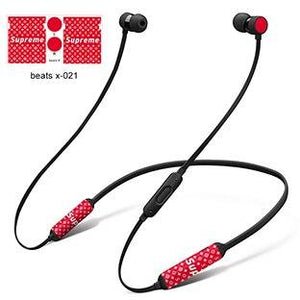 GOOYIYO - For Beats X DIY Personality Decal High Quality 3M Vinyl Colored Skin For BeatsX Wireless Headphone Headset Stickers