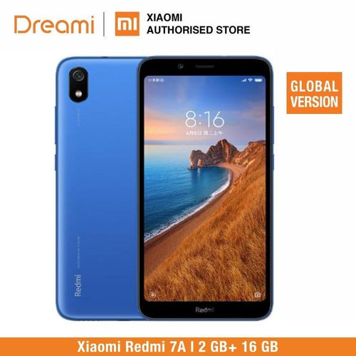 Global Version Xiaomi Redmi 7A 16GB ROM 2GB RAM (Brand New and Sealed) 7a 16gb Bahria Stores by Xiaomi in Smartphones