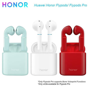 Honor Flypods Flypods Pro TWS Bluetooth Earphone with Dustproof Waterproof Headsets for Huawei/Honor Bone Voiceprint Payment