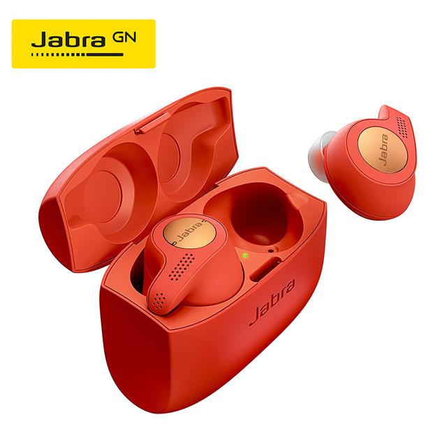 Jabra Elite Active 65t Alexa Enabled True Wireless Sports Earbuds with Charging Case Copper Blue &  Copper Red  & Titanium Black