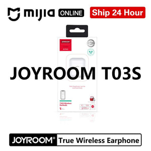 Joyroom T03S tws Binaural Wireless bluetooths 5.0 earphone In-Ear True wireless White Airbuds Gaming Gamer Earbuds