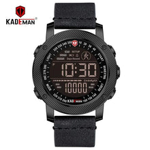 Load image into Gallery viewer, KADEMAN Luxury Sports Digital Men Watch Army Military Step Count Waterproof Leather Hand Clock Top Brand Male Wristwatch Relogio Bahria Stores by Bahria Stores in [product_type]