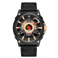Load image into Gallery viewer, Luxury Brand BELLEDA Mens Military Sports Male Analog Date Rose Gold Quartz Watch Men Watches Casual Leather WristWatches Bahria Stores by Bahria Stores in [product_type]