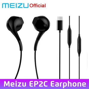 MEIZU Type-C Earphone EP2C in Ear with Microphone 14mm Superfine HD Sound Quality Headset For Meizu 16S