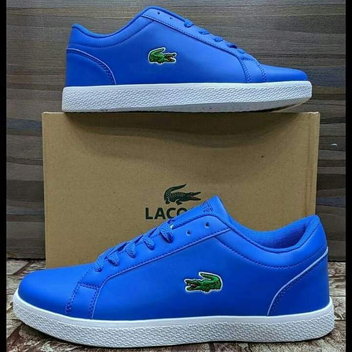 LACOSTE Lerond BL Blue Sneakers for Men