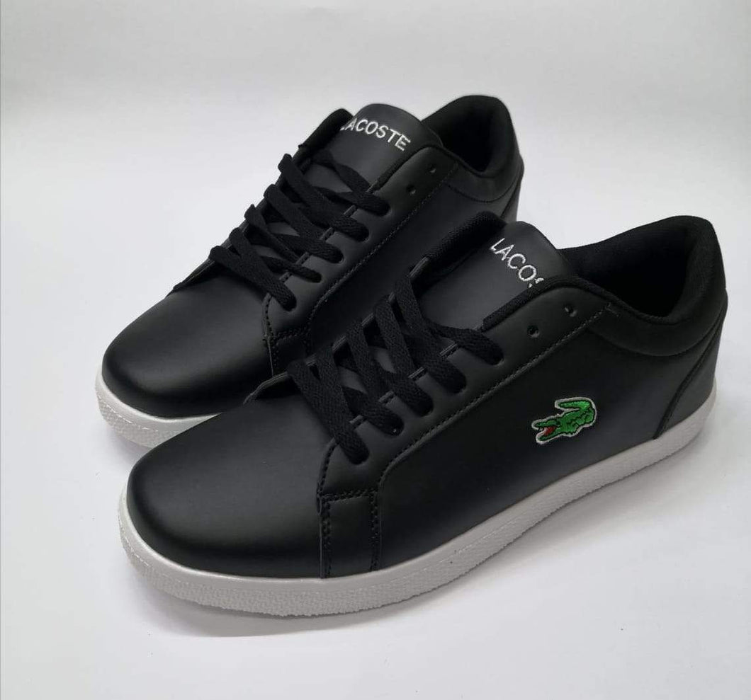 LACOSTE Lerond BL Black Sneakers for Men Bahria Stores by AnzorStore in Casual Sneakers