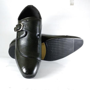 BROKE's Single Monk Strap Formal Shoes for Men Bahria Stores by AnzorStore in Formal Shoes
