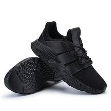 Load image into Gallery viewer, ZENVBNV Breathable Black Men's Running Sneakers Bahria Stores by AnzorStore in Casual Sneakers