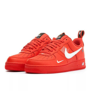 NIKE Air Force Red Sneakers - White Tick Bahria Stores by AnzorStore in Casual Sneakers