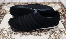 Load image into Gallery viewer, Authentic JUMP Black Stripes Black Casual Slip-ons Bahria Stores by AnzorStore in Casual Sneakers