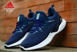 ADIDAS Alpha Bounce Beyond Blue Sneakers Bahria Stores by AnzorStore in Casual Shoes