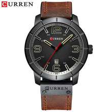 Load image into Gallery viewer, Men Watch 2019 CURREN Men's Quartz Wristwatches Male Clock Top Brand Luxury Reloj Hombres Leather Wrist Watches with Calendar Bahria Stores by Bahria Stores in [product_type]