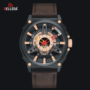 Mens Watches Top Brand Luxury Sport Quartz Military Watch Men Fashion Waterproof Complete Calendar Wristwatch relojes mujer 2019