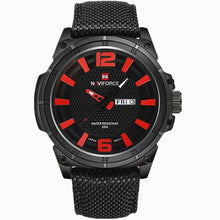 Load image into Gallery viewer, NAVIFORCE 2019 Men's Luxury Watch Military Watch Men Quartz wristWatch Sports Date Clock Brand Men Casual Nylon Watch 9066 Bahria Stores by Bahria Stores in [product_type]