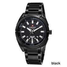 Load image into Gallery viewer, NAVIFORCE Brand Men Watches Business Quartz 30M Waterproof Watches Men's Stainless Steel Band Auto Date Wristwatches Relojes Bahria Stores by Bahria Stores in [product_type]