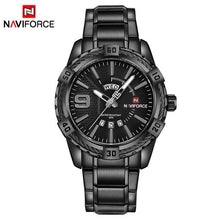 Load image into Gallery viewer, NAVIFORCE Fashion Casual Brand Waterproof Quartz Watch Men Military Stainless Steel Sports Watches Man Clock Relogio Masculino Bahria Stores by Bahria Stores in Watches