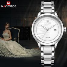 Load image into Gallery viewer, NAVIFORCE Luxury Brand Women Watches Clock Steel Quartz Watch Fashion Ladies Waterproof Wrist Watch Reloj Mujer Relogio Feminino Bahria Stores by Bahria Stores in [product_type]