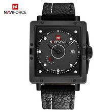 Load image into Gallery viewer, NAVIFORCE Men's Fashion Sport Watches Men Quartz Analog Date Clock Man Leather Military Waterproof Watch Relogio Masculino 2018  (7) Bahria Stores by Bahria Stores in Watches