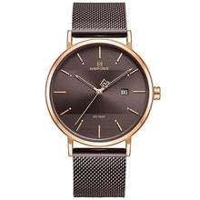 Load image into Gallery viewer, NAVIFORCE Men Watch Top Brand Simple Fashion Men Watches Stainless Steel Waterproof Quartz Wrist Watch Men Relogio Masculino Bahria Stores by Bahria Stores in Watches