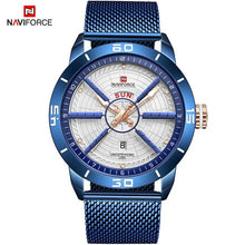 Load image into Gallery viewer, NAVIFORCE Men's Business Affairs Electroplate Watch Men Luxurious Quartz Wristwatches Date Display Male Clock Relogio Masculino Bahria Stores by Bahria Stores in [product_type]