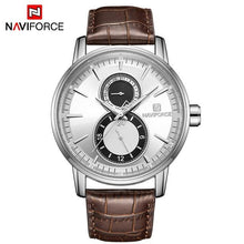 Load image into Gallery viewer, NAVIFORCE Mens Watch Date 24 hours Display Business Gold Watches Sport Fashion Wristwatch Waterproof Men Clock Relogio Masculino Bahria Stores by Bahria Stores in [product_type]