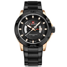 Load image into Gallery viewer, NAVIFORCE Mens Watches Top Luxury Brand Men Full Steel Hour Quartz Watch Analog Waterproof Sports Army Military WristWatch Clock Bahria Stores by Bahria Stores in [product_type]