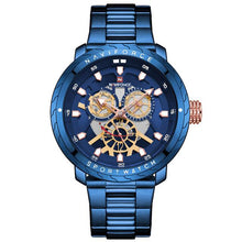 Load image into Gallery viewer, NAVIFORCE New Men Watches Top Brand Quartz Waterproof Wristwatch Military Sport Watch Male Blue Clock Relogio Masculino 9158 Bahria Stores by Bahria Stores in [product_type]