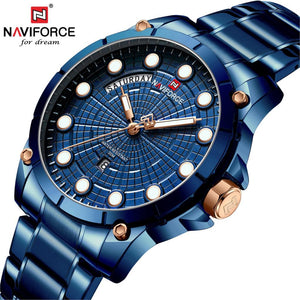 NAVIFORCE Relojes 2019 Watch Men Fashion Sport Quartz Clock Mens Watches Top Brand Luxury Business Waterproof Relogio Masculino Bahria Stores by Bahria Stores in [product_type]