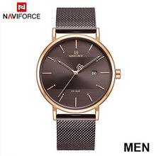 Load image into Gallery viewer, NAVIFORCE Top Brand Luxury Men Quartz Watches Women Steel Waterproof Casual Date Couple Clock Male Wrist Watch Relogio Masculino Bahria Stores by Bahria Stores in [product_type]