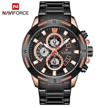 Load image into Gallery viewer, NAVIFORCE Top Brand Mens Watches Luxury Bussiness Watch Digital Quartz Men Military Wristwatch Clock Male Relogio Masculino 9165 Bahria Stores by Bahria Stores in [product_type]