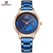 Load image into Gallery viewer, NAVIFORCE  Women Casual Watches Brand Luxury Watch Quartz Wrist Watch Ladies Girls Fashion Clock Relogios Feminino Dropshipping Bahria Stores by Bahria Stores in [product_type]