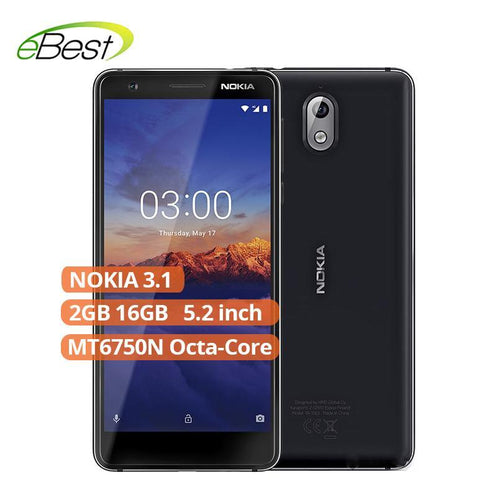 Nokia 3.1 Android 4G LTE Smartphone 5.2'' HD+ display 18:9 ratio  MT6750N Octa-Core 2990mAh mobile phone Bahria Stores by Nokia in Smartphones