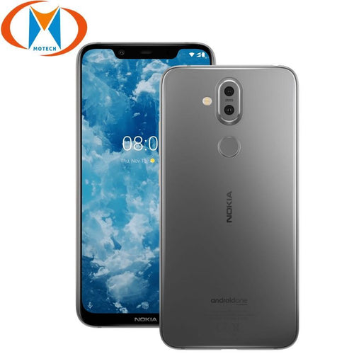 "Nokia 8.1 TA-1119 6.18"" Global Version Mobile Phone Snapdragon 710 Octa Core 4GB 64GB 20MP Camera Android 9.0 4G NFC Smartphone Bahria Stores by Nokia in Smartphones"
