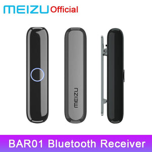 Original Meizu BAR01 Bluetooth 4.2 Audio Receiver Wireless Adapter 3.5mm Audio Music Car Kit Speaker Headphone For Meizu Phone