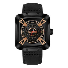 Load image into Gallery viewer, Original Mens Watches Luxury Sport Spure Watches TOP Brand KADEMAN 3ATM Casual Leather Wristwatches Business Male Quartz Relogio Bahria Stores by Bahria Stores in [product_type]