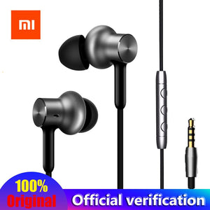 Original Xiaomi Mi In-Ear Hybrid Pro HD Earphone With Mic Noise Cancelling Mi earphones for huawei xiaomi mi6 Redmi 4