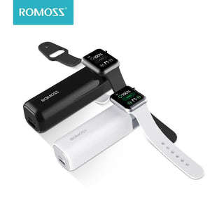 Romoss iRoll 3250mAh Wireless Charger For Apple Watch Dual Port 2A Output Portable Power Bank For iPhone X/8 Plus/8/7Plus/7/6 P Bahria Stores by Romoss in Power Bank
