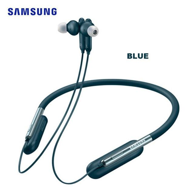 Samsung U Flex Bluetooth Headset with Flexible Design Seamless Music Playback Neckband Hearphone for Galaxy S10 EO-BG950