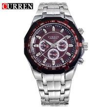 Load image into Gallery viewer, Top Brand Luxury Watch CURREN Casual Military Quartz Sports Wristwatch Full Steel Waterproof Men's Clock Relogio Masculino Bahria Stores by Bahria Stores in [product_type]