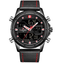 Load image into Gallery viewer, Top Luxury Brand NAVIFORCE Watches Men Fashion Sport Watches Men's Digital Quartz Clock Leather Military Waterproof Wrist Watch Bahria Stores by Bahria Stores in Watches