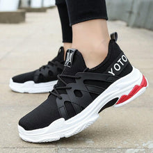 Load image into Gallery viewer, MAMAY Urban Style Letters Pattern Black Sneakers Bahria Stores by AnzorStore in Casual Sneakers