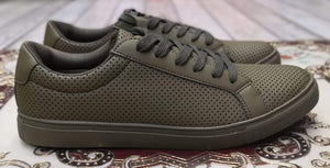 Premium Army Color Casual Sneakers Bahria Stores by AnzorStore in Casual Sneakers