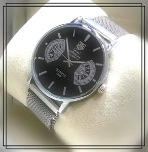 TAG HEUER CARRERA Calibre 17 Metallic Mesh Strap Wrist Watch - First Copy Bahria Stores by AnzorStore in Wrist Watch