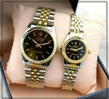 Load image into Gallery viewer, ROLEX Stainless Steel Wrist Watch Pair for Couples (Replica) Bahria Stores by AnzorStore in Wrist Watch