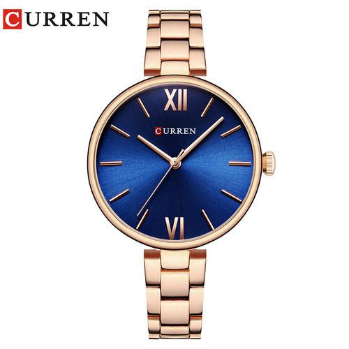 CURREN Luxury Women Watches Rose Gold Analogue Quartz Wrist Watch Female Clock Ladies Stainless Steel Watch Bahria Stores by AnzorStore in Wrist Watch