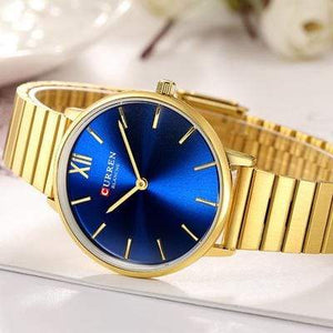 CURREN Men Stainless Steel Watch Business Sport Waterproof Quartz Watch Bahria Stores by AnzorStore in Wrist Watch