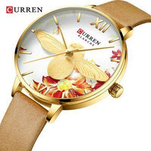 "Load image into Gallery viewer, Curren ""Blanche"" Unique Design Ladies Watch (Dial 3.2cm) Bahria Stores by AnzorStore in Wrist Watch"