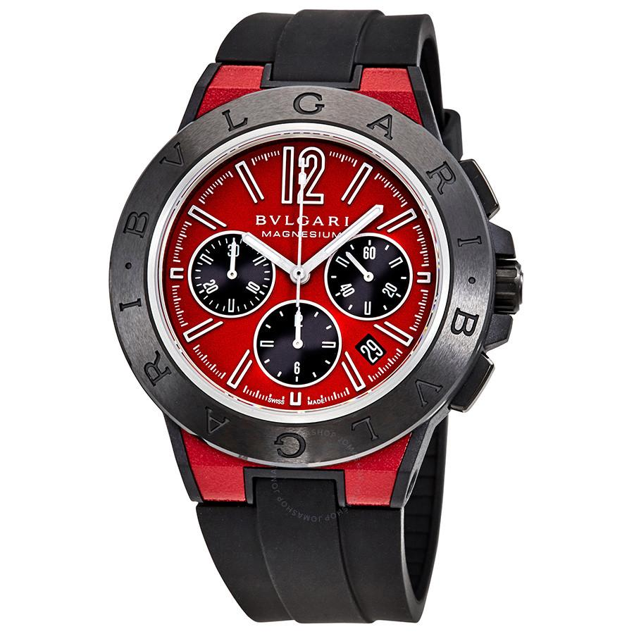 BVLGARI Diagono Magnesium Automatic Chronograph Men's Watch Bahria Stores by AnzorStore in Wrist Watch