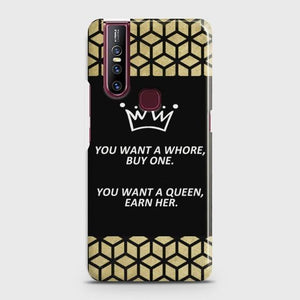 VIVO V15 You Want A Queen Earn Her Case Bahria Stores by Bahria Stores in [product_type]