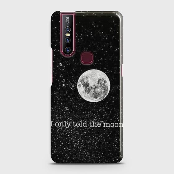 VIVO V15 Only told the moon Case Bahria Stores by Bahria Stores in [product_type]